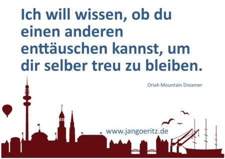 Oriah Mountain Dreamer - Jan Göritz - Heilpraktiker für Psychotherapie, Psychologischer Berater, Psychotherapeut (HpG) in Hamburg